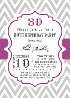 Milestone Candle Birthday Invitation Template Th  Birthday