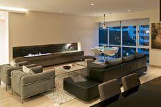 Armoni Apartment by ARCO Arquitectura Contemporánea - Fireplace