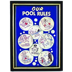 Shop RAM Game Room Pool Rules Sign Outdoor Wall Art at Lowe's Canada. Find our selection of outdoor wall art at the lowest price guaranteed with price match. Outdoor Wall Art, Outdoor Signs, Outdoor Walls, Outdoor Pool, Outdoor Decor, Game Room Decor, Wall Decor, Pool Rules Sign, Pool Table Accessories