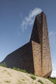 Incineration Line by Erick van Egeraat, Roskilde