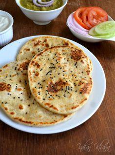 Kulcha Recipe   Indian Bread Recipes