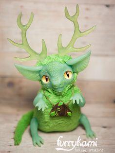 Forest dragon - Furrykami by Furrykami-creatures on DeviantArt