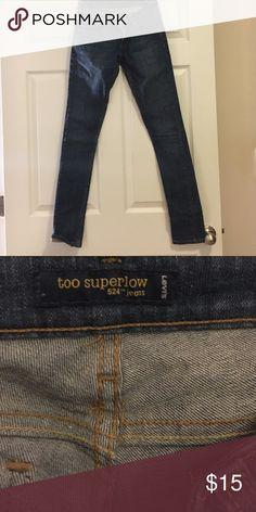 Levi's 524 Classic jeans. 524 too superlow cut. Size 1 long. Levi's Jeans Skinny