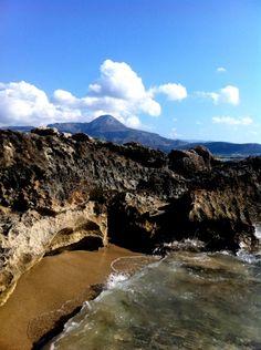 Rocky cove in Falassarna, Kissamos Crete
