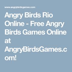 59 Best Angry Birds Rio Images Angry Birds Rio Star Wars