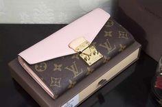LV Ms. long wallet pink ballet PALLAS wallet – CHICS – Beautiful Handbags & Accessories
