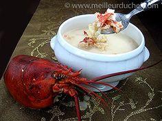 Consommé de homard au lait de coco    #homard  #recette