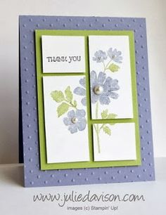 Gifts of Kindness: Cut Up Card - Julie's Stamping Spot -- Stampin' Up! Project Ideas Posted Daily