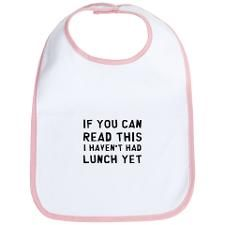 hah! neat bib idea for future baby shower gift