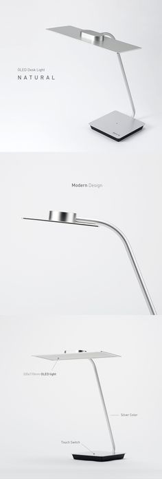 OLED light desk lamp 'Natural' is now available at Workrite Ergonomics in the United States. Soon be available at OLED-Design.com #OLEDDesign