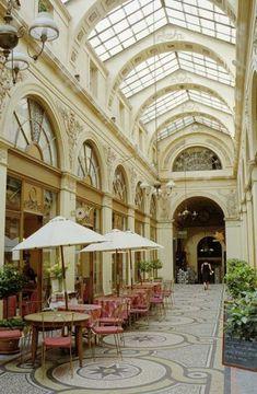 Un Café back in time at Priori des Thés Galerie Vivienne, near the Louvre   Paris   France