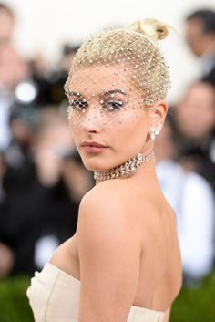 """""""Hailey Baldwin attends Met Gala on May 1, 2017 in New York City. """""""