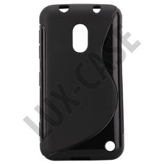 S-Line Solid (Svart) Nokia Lumia 620 Deksel Phone Cases, Cover, Blankets