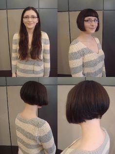 Rachel's Bob Haircut