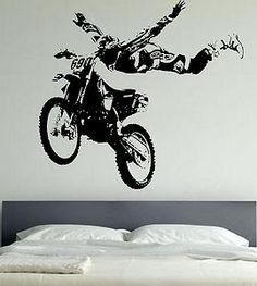 Motor-Cross-Giant-Wall-Art-Stickers-Motor-bike-