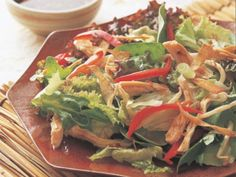 Sweet and Spicy Chinese Chicken Salad http://www.prevention.com/food/healthy-recipes/30-minute-not-boring-chicken-recipes/slide/12