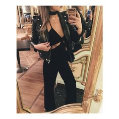 ALL BLACK EVERYTHING  @weworewhat in our cutout jumpsuit. Click our bio link to shop. #missguided #babesofmissguided