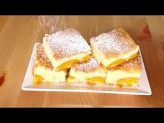 PRAJITURA CU CAISE, PRAJITURA CU FRUCTE PROASPETE - YouTube No Cook Desserts, Just Desserts, Dessert Recipes, Romanian Desserts, Caramel, French Toast, Sweets, Fruit, Cooking
