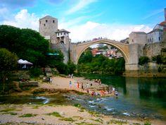 Tak wygląda spełnione marzenie! Mostar <3 Więcej tutaj --> http://www.atlasperspektyw.pl/2015/01/dwa-lata-wstecz-inspirujac-sie-w-google.html