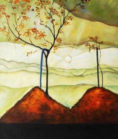 Autumn Sun I (Rising Sun), 1912, Egon Schiele