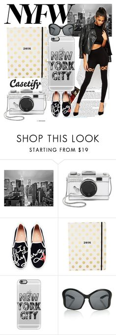 """""""Empire State of Mind"""" by casetify ❤ liked on Polyvore featuring Trademark Fine Art, Kate Spade, Casetify, ASOS, women's clothing, women, female, woman, misses and juniors"""