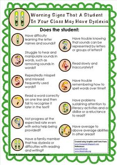 If you suspect a student in your class has #dyslexia but you are unsure of what to look for, then these tips will help you begin the identification process. Visit the blog to download your copy. http://topnotchteaching.com/time-saving-tips/11-warning-signs-dyslexia/