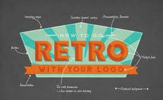 retro logos - Google Search