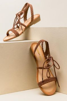 Madden Girl - Torren Lace Up Braid Sandal $48.00