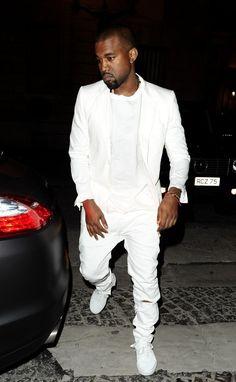 Kanye West - Kim Kardashian and Kanye West in Paris
