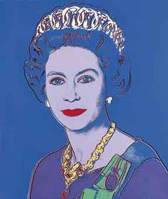 Andy Warhal - Reigning Queens: Queen Elizabeth II of the United Kingdom