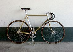 """""""Gold"""" Merckx """"Track Bike"""" Monday!"""