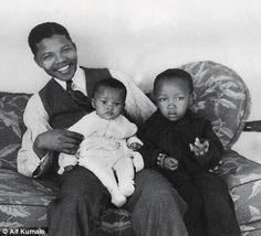 Mandela en estado crítico - homenaje