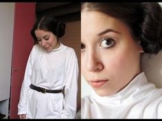 Cosplay - Princess Leia (Star Wars) - YouTube