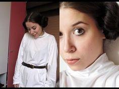 Cosplay - Princess Leia (Star Wars) - YouTube