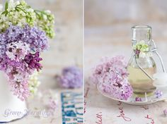 Lilac syrup recipe for this spring (in Polish, must translate)