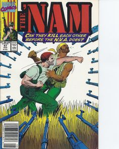 Vietnam Journal The 'Nam comic books by KaysPaperCaper on Etsy, $3.00