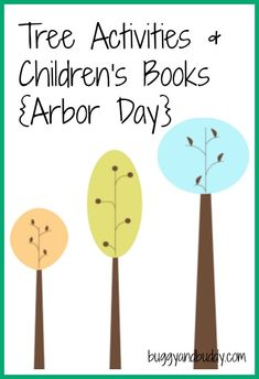 Tree Crafts/ Art & Our Favorite Children's Books about Trees