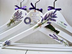 What a Beautiful Gift This Would Be~ Hand Painted Hangers~ Kimberly Stanley Más Decoupage Furniture, Hand Painted Furniture, Crafts To Make And Sell, Diy Arts And Crafts, Wedding Hangers, Decoupage Vintage, Types Of Craft, Wooden Hangers, Coat Hanger
