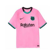 Pink Football Kits, Nike Football, Football Shirts, Barcelona Football Kit, Barcelona Team, Jersey Shirt, Custom Shirts, Lionel Messi, Mens Tops