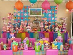 "Lalaloopsy Party / Birthday ""JADE'S LALALOOPSY 6TH B-DAY PARTY"" | Catch My Party"