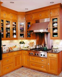 Victorian Kitchen Cabinets #12 (Crown Point.com, Kitchen Design