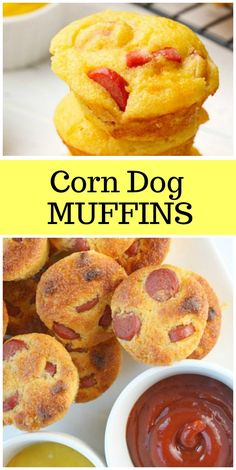 This recipe for Corn Dog Muffins is perfect for Super Bowl, tailgate parties, kid parties and adult parties too! Corn Dog Muffins, Super Bowl, Kids Meals, Easy Meals, Recipe Girl, Corn Dogs, Popular Recipes, Popular Food, Appetizer Recipes