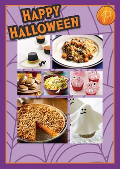 Whether you're planning a horribly haunted Halloween party or you're simply looking to spook-up your family dinners, our easy-to-follow Halloween themed recipes will help you rustle up a great selection fuss-free, devilishly delicious treats!