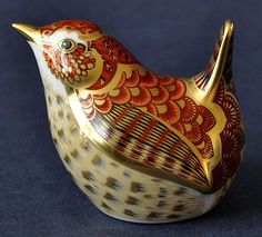 Royal Crown Derby Jenny Wren http://www.bwthornton.co.uk/royal-crown-derby.php