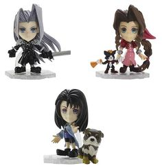 Popular Final Fantasy Trading Arts KAI Mini Figures Re-Issued
