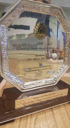 An award is being received by #CSIR. Shri @narendramodi ji given the award  for herbal medicine #BGR34.   #BGR34News #BGR34Coverage