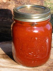 Homemade Steak Sauce by Chef Michael Smith Homemade Steak Sauces, Homemade Ketchup, Homemade Sauce, Chutneys, Chef Michael Smith, Canning Recipes, Jar Recipes, Budget Recipes, Salsa Dulce