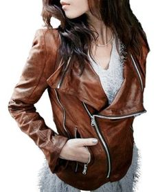 Dont like most leather jackets.. but this one i like. zipperzzzzzzzzzz