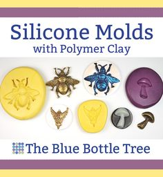 Learn how to use silicone molds with polymer clay to make faux cameos, charms, and much more in the this article from The Blue Bottle Tree.