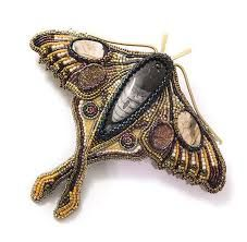 Resultado de imagen para bead embroidery necklace patterns